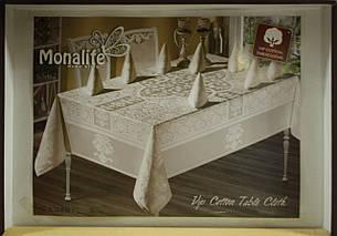 Комплект столового белья Monalife VIP cotton 160*220 , фото 2