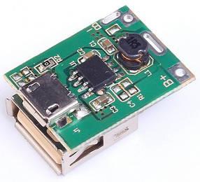 Контроллер заряда, разряда Power Bank Li-ion аккумуляторов 3,7v
