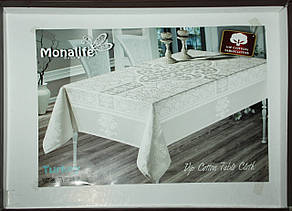 """Скатерть для праздничного стола """"Monalife"""" VIP cotton, фото 2"""