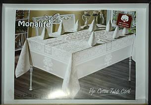 "Комплект столового белья на 12 персон ""Monalife"" VIP cotton 160*300, фото 2"