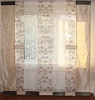 Комплект панельных шторок оливковые, 2-2,5м, фото 1