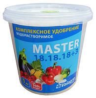 Комплексное минеральное удобрение Master (Мастер), 1кг, NPK 18.18.18+3Mg, TM RosLa (Росла) арт. 5762
