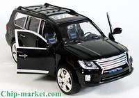Коллекционная  машинка Lexus LX 570