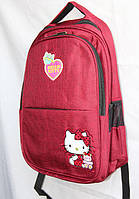 """Школьный рюкзак для девочки """"HELLO KITTY"""", с вентиляцией"""