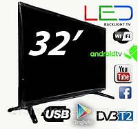"""Телевизор 32"""" LED backlight tv L 32 SMART TV. расширение 1920 х 1080 широкоформатный"""