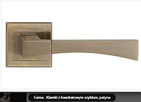 Дверная ручка   Metal-bud Gama бронза