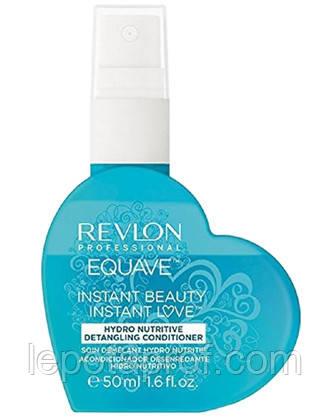 Кондиционер 2-х фазный увлажнение и питание Revlon Equave Hydro Nutritive Detangling Conditioner 50 ml