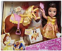 Кукла Jakks Pacific Disney Бель с конем, 30.4 см