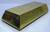 Зажигалка настольная - слиток золота.  Пламя: огонёк. Длина: 13 см Ширина: 5 см