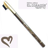 """El Corazon профессиональный карандаш для бровей """"Khaki"""" (Хаки) № 305"""