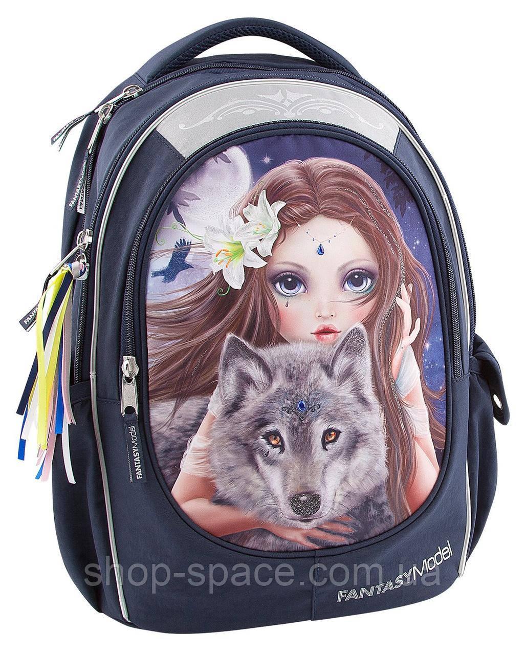Рюкзак TOP Model Красочный Волк