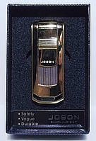 Подарочная зажигалка JOBON.   Пламя: острое пламя