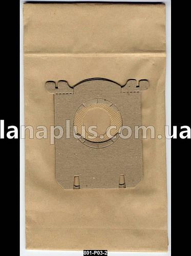 Мешки для пылесосов Philips, Electrolux, 5 шт + фильтр, пылесборник P-03 C-II бумажный