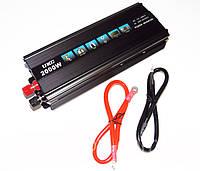 Инвертор автомобильный 2000W, Преобразователь напряжения AC/DC 2000W, Акция