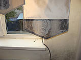 Комплект панельних шторок троянди сірі, 2м, фото 2