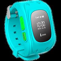 Детские часы с GPS трекером GW300 Q50 Blue
