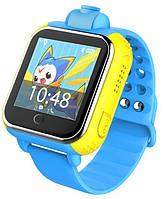 Детские часы с GPS трекером TD-07 Q20 Blue