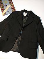 Пиджак+жилетка на мальчика школьный