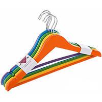 Набор вешалок для детской одежды Underprice цветные 5 шт