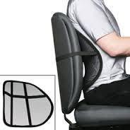 Упор для спины: подходит в офисное кресло и в авто