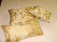 Комплект подушек золото листочек,  3 шт, фото 1