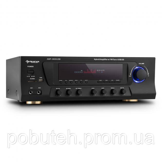 Усилитель звука Auna AMP-3800