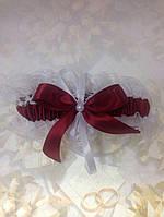 Свадебная подвязка 45