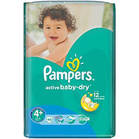 Подгузники Pampers Active Baby-Dry Maxi+ 9-16 кг 45 шт