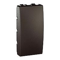Заглушка 1-модульная Графит Unica Schneider Electric MGU9.865.12