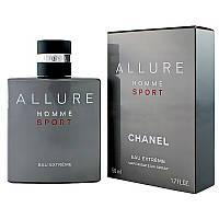Мужская туалетная вода Allure Homme Sport Eau Extreme Chanel  (яркий, дорогой аромат)