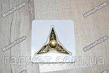 Треугольный ручной спиннер  -  Золотой, фото 3