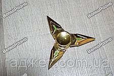 Треугольный ручной спиннер  -  Золотой, фото 2