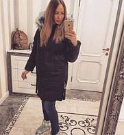 TM Ozze Женская зимняя куртка К 98, черный