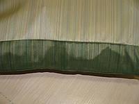 ККомплект подушек салатовые мелкая полоска, 3 шт, фото 1