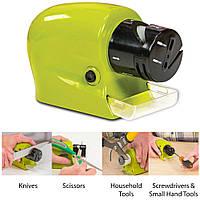 Электрическая точилка для ножей и ножниц Swifty Sharp, Ножеточка электро, Универсальная Электро точилка
