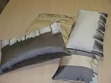 Комплект подушек бежевые с молочным, 4 шт, фото 3