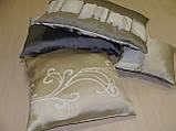 Комплект подушек бежевые с молочным, 4 шт, фото 4