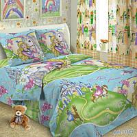Комплект детского постельного белья  ПРИНЦЕССА И КОНЬ, ткань поплин