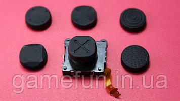 Силіконові накладки Ps vita на стіки (Black) (6шт)