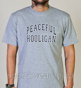 "Футболка Peaceful hooligan """" В стиле Peaceful hooligan """""