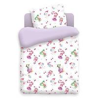 Комплект детского постельного белья МАЛЕНЬКИЕ ФЕИ, ткань  поплин
