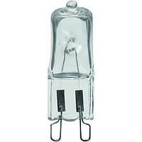 Лампа галогенная EUROLAMP 4 штуки в упаковке 60 Вт G9 230 В прозрачная SG-16009