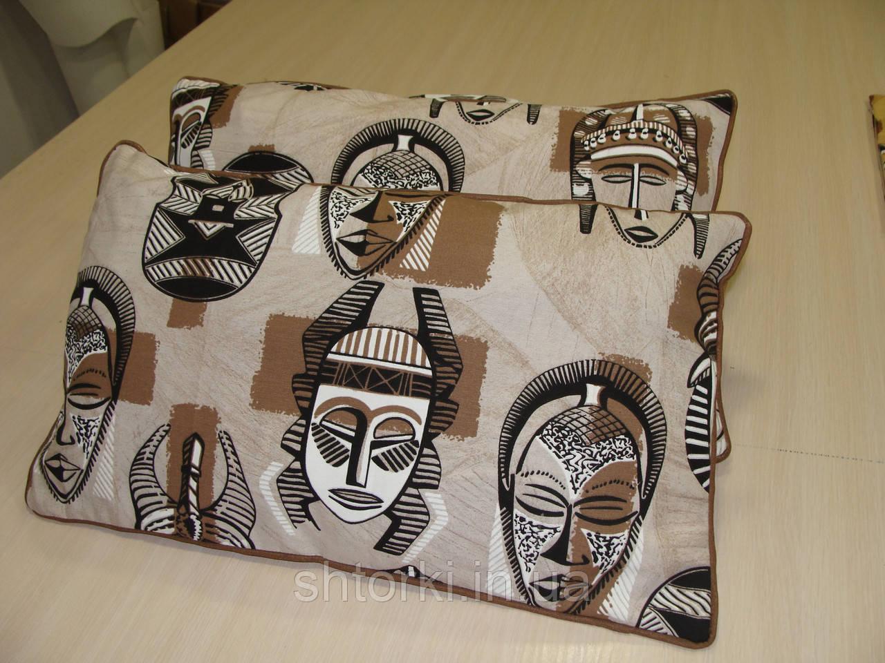Комплект подушек Этно стиль индейцы , 3 шт 60х35