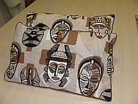 Комплект подушек Этно стиль индейцы , 3 шт 60х35, фото 1
