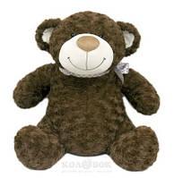 Мягкая игрушка Grand Медведь коричневый, с бантом, 25 см