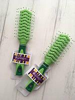 Расческа для укладки волос с прорезями