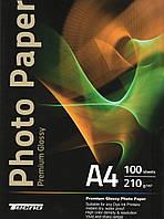Фотобумага Tecno Premium 210g/m2/A4 100лис.