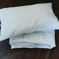 Подушка + одеяло в детскую кроватку