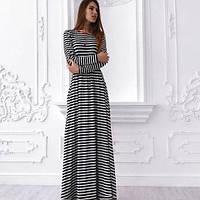 9362efe342b Длинные платья в полоску оптом в Украине. Сравнить цены