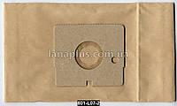 Мешки для пылесоса LG, 5 шт + фильтр, пылесборник L-07 C-II бумажный